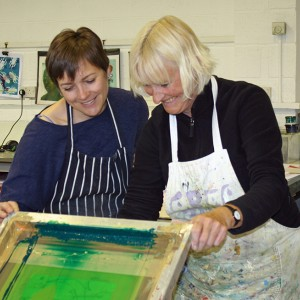 Open Access Screen Printing assisted days
