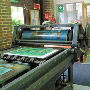 Create Large Monotypes on Offset Lithographic Press