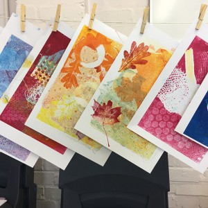 Evening Introduction to Printmaking Course at Letchworth