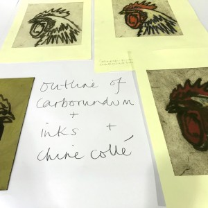 Open Access Collagraph Printing assisted days