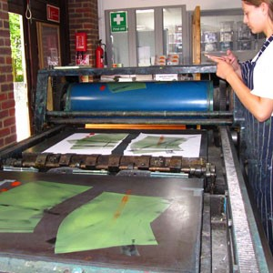 Monoprint on the Offset Lithographic Press