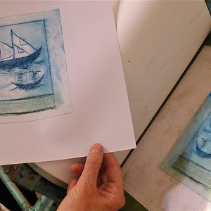 Introduction to Dry Point with Chîne Collé at Letchworth